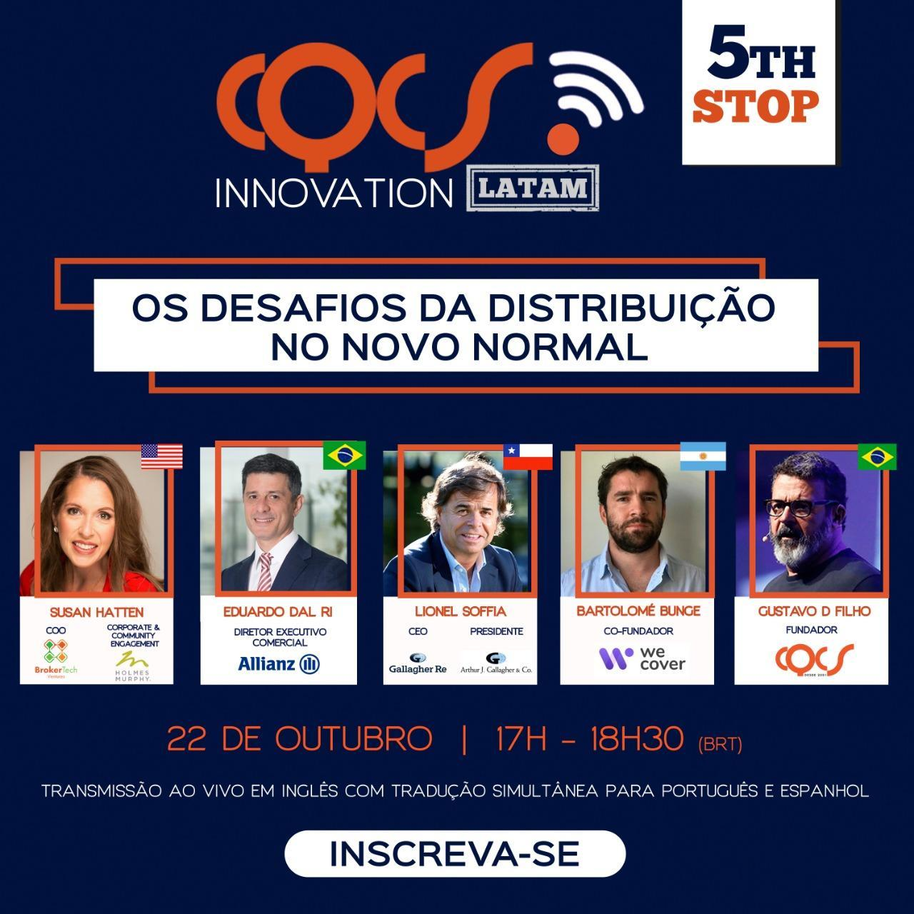 5th Stop CQCS Innovation Latam - Parceria Sincor - MT